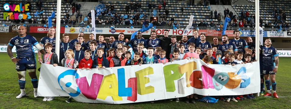 Photo équipe rugby enfants