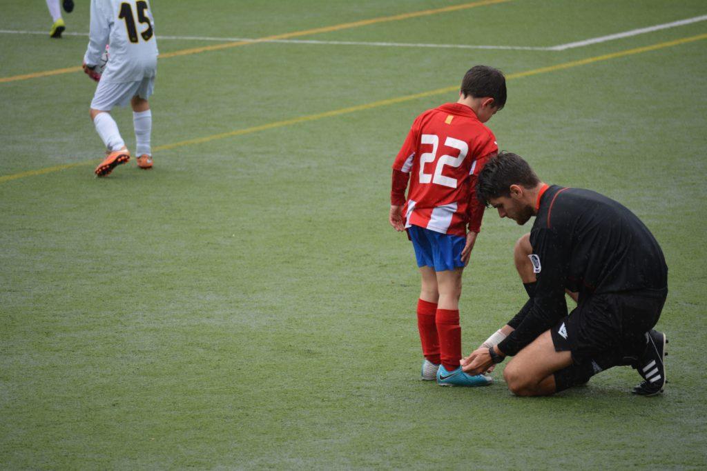 Photographie entraîneur enfant